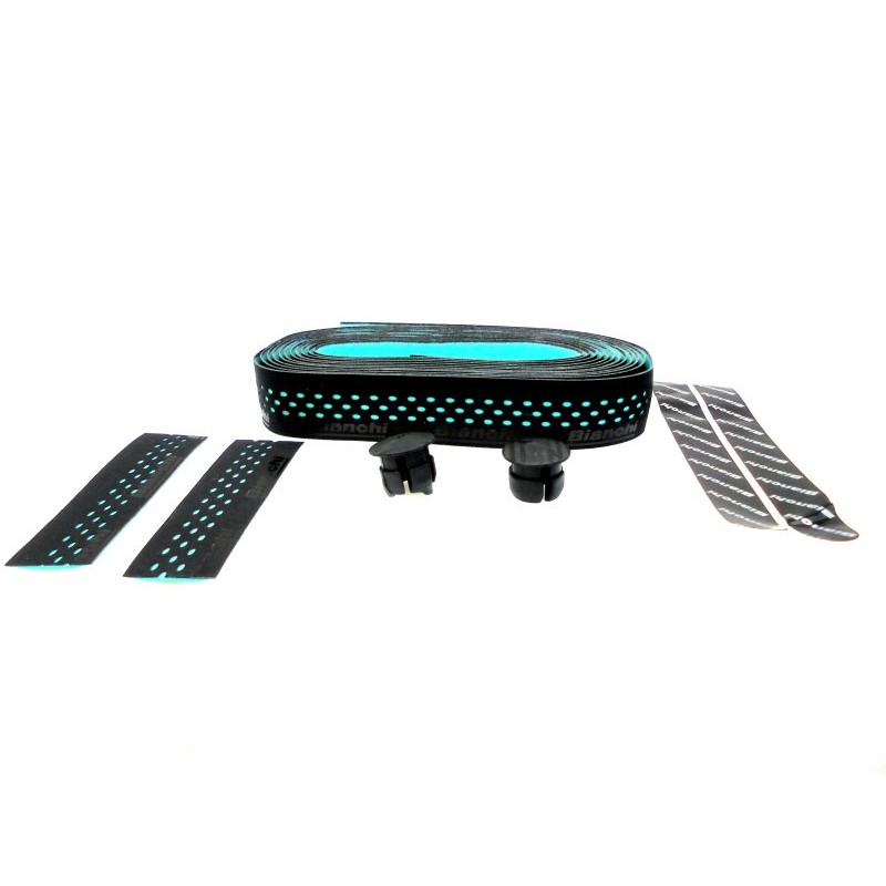 Bianchi Drops Black Bar Tape