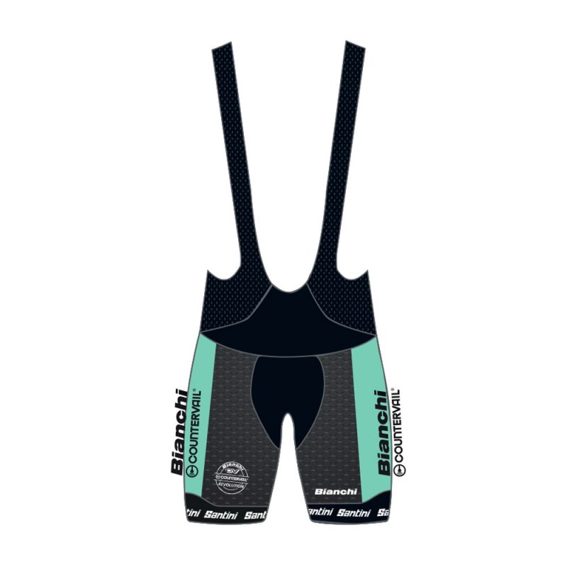 Bianchi Countervail Team Bib Shorts
