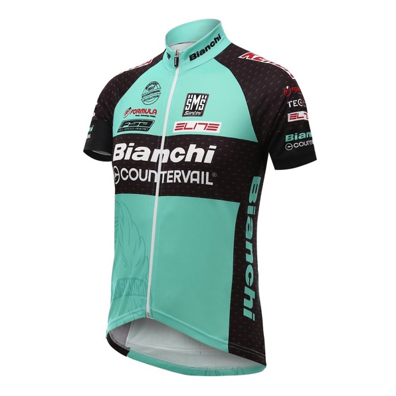 Bianchi Countervail Team Short Sleeve Jersey
