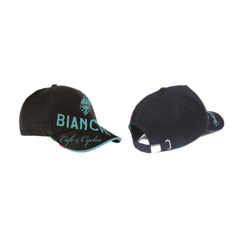 Bianchi Cafe and Cycles Baseball Cap