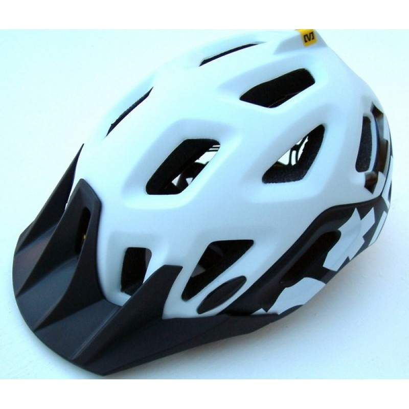 Mavic Notch Helmet White