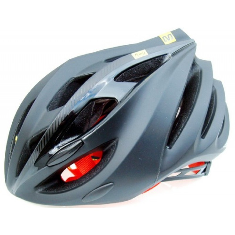 Mavic Syncro Helmet Black Red