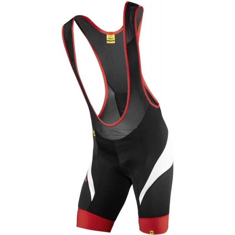 Mavic HC Bib Shorts Black Red