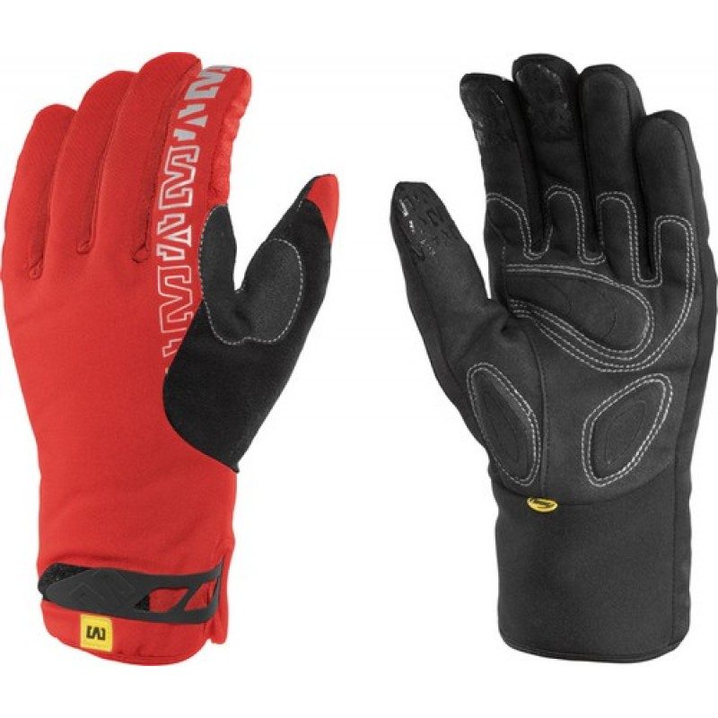 Mavic Inferno Thermo Glove Red
